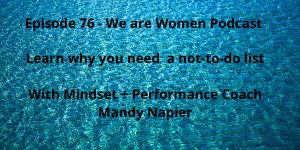 Mandy Napier on Podcast